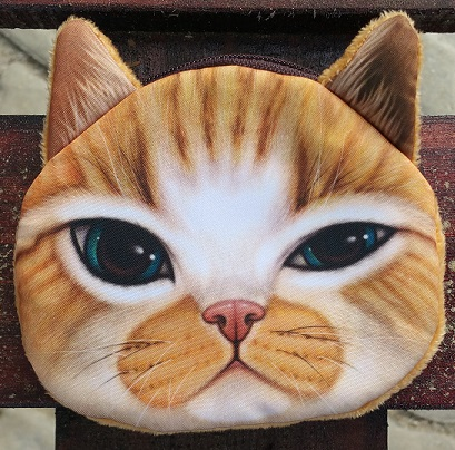 CatBagz.com Cat Faced Coin Bags Oliver Style