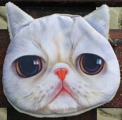 CatBagz.com Cat Faced Coin Bags Oscar Style
