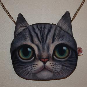 Cat Chain Purse